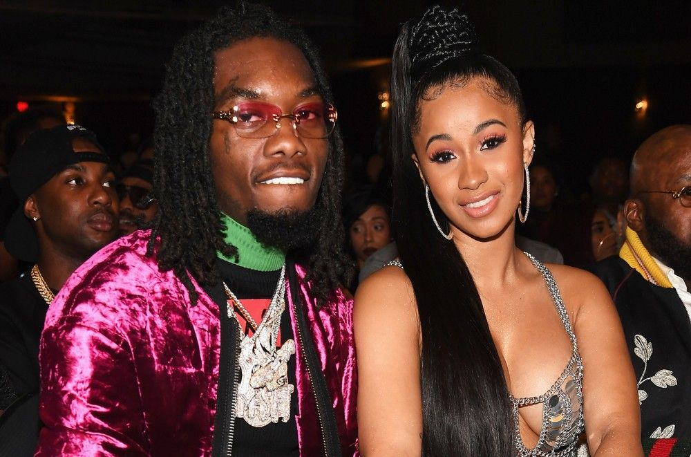 Cardi B & Offset Cover 'Rolling Stone' Ahead of Baby's Birth