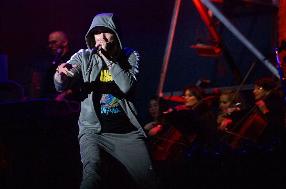 Eminem Issues Warning to Critics of Show's Gunshot-Like Sound Effects: 'You Shouldn't Be Here'