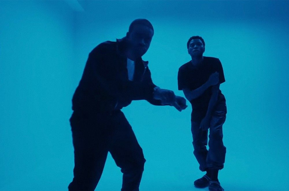 Gallant & A$AP Ferg Turn Blue for 'Doesn't Matter Remix'  Watch
