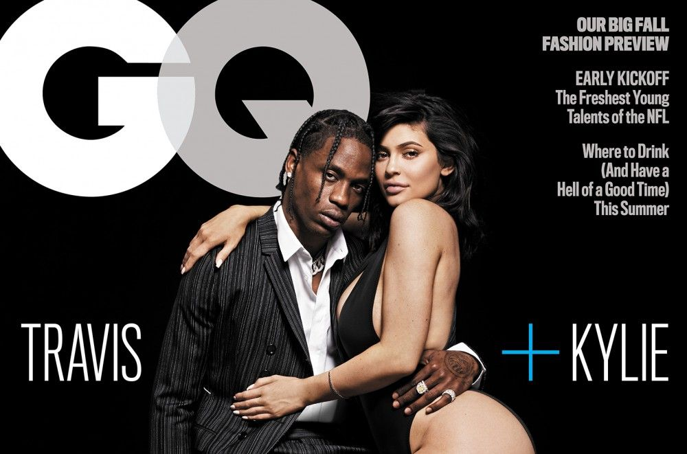 Travis Scott Poses For First Cover Story With Kylie Jenner, Reveals He Cried During Stormi's Birth