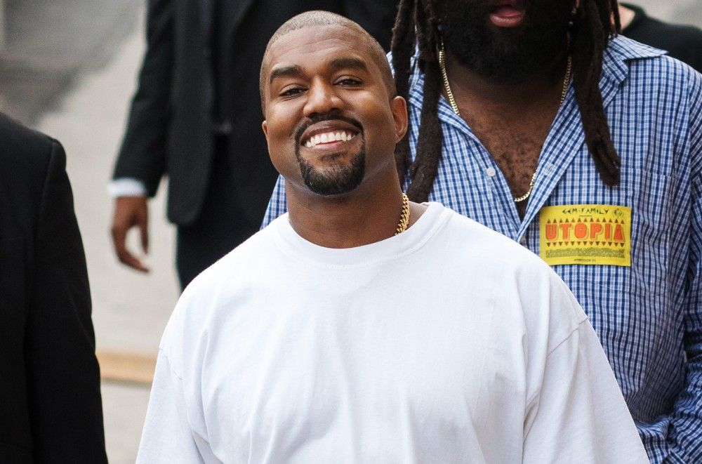Watch Kanye West & Saint Throw First Pitch Before Cubs-White Sox Game