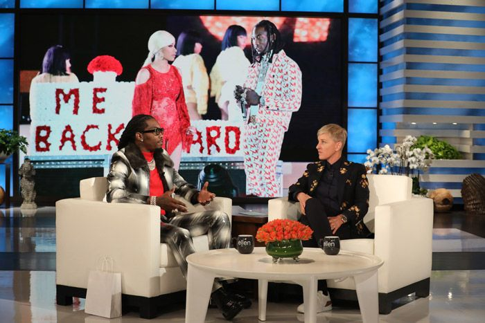 Offset Talks Cardi B, Car Crash & More on Ellen