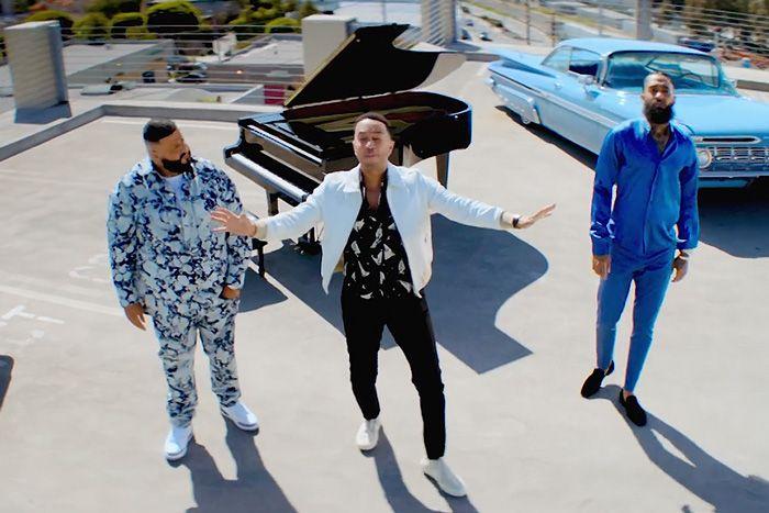 DJ Khaled – Higher Ft. Nipsey Hussle & John Legend