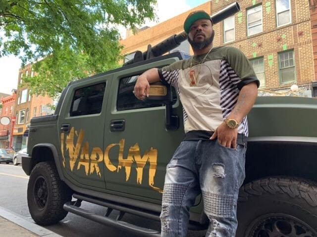 Philly's Warchyld Shows Of 'War Hummer' On The City's South Street