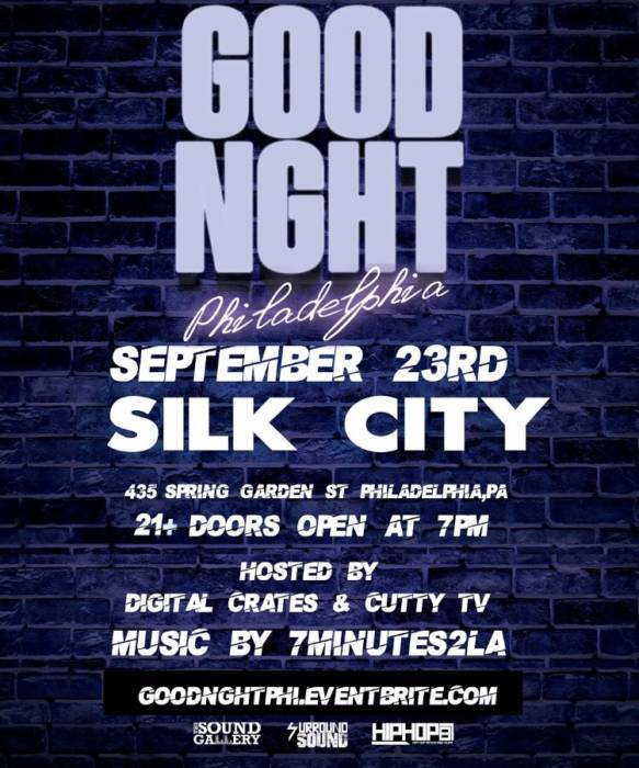 Your Invited to GOODNGHT PHILLY Sept 23rd!