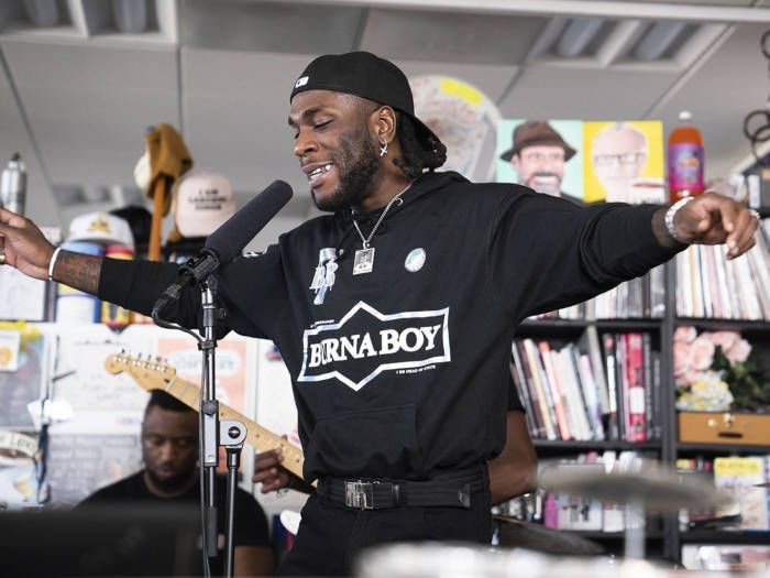Watch Africa's Giant, Burna Boy's 'Tiny Desk Concert'