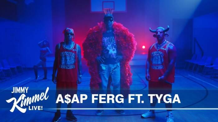 maxresdefault-5 Dennis Rodman Joins A$AP Ferg & Tyga on Jimmey Kimmel Live (Video)