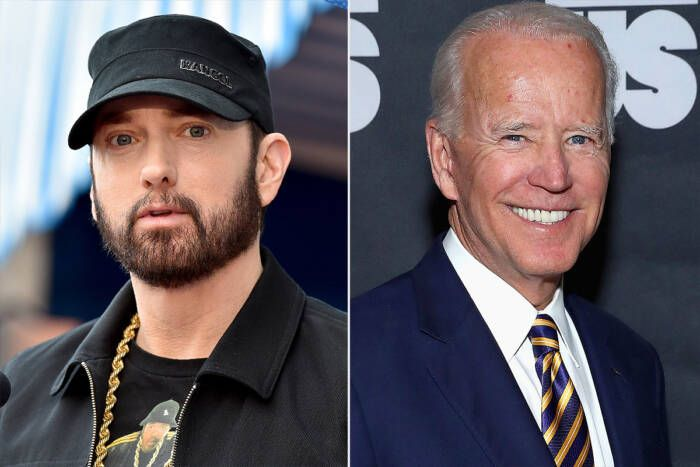 """image Eminem For Biden! Watch His """"Lose Yourself"""" Election Ad! (Video)"""