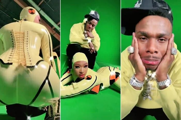 """megan-stallion-dababy-crybaby Megan Thee Stallion & DaBaby Unveil """"Cry Baby"""" Visuals!"""