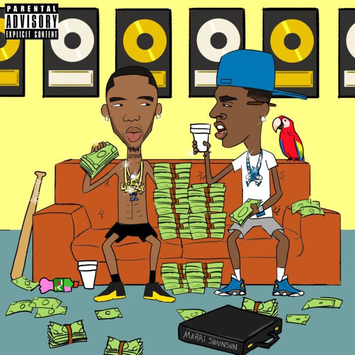 """unnamed-11 Young Dolph & Key Glock announce Dum and Dummer 2, Share """"Aspen"""""""