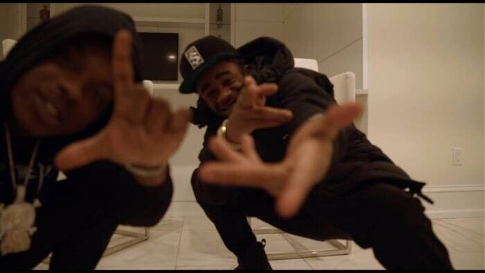 Leeky-Bandz_MoneyMarr_UHUH Leeky Bandz - UHUH Ft. MoneyMarr (Video)