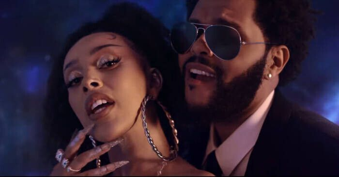 """Doja-Cat-The-Weeknd-You-Right-Official-Video-2-24-screenshot Doja Cat Releases """"Planet Her"""" & """"You Right"""" Video w/ The Weeknd"""